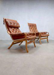 Vintage design lounge chair Scandinavian Scandinavisch Mathsson Bruno