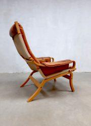 Scandinavisch vintage design scandinavian Bruno lounge chair fauteuil Mathsson chairs
