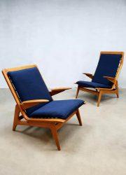 vintage Gelderland de Ster fauteuils easychair lounge chair