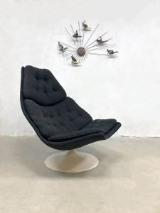 Dutch design swivel chair draaifauteuil F511 Geoffrey Harcourt Artifort