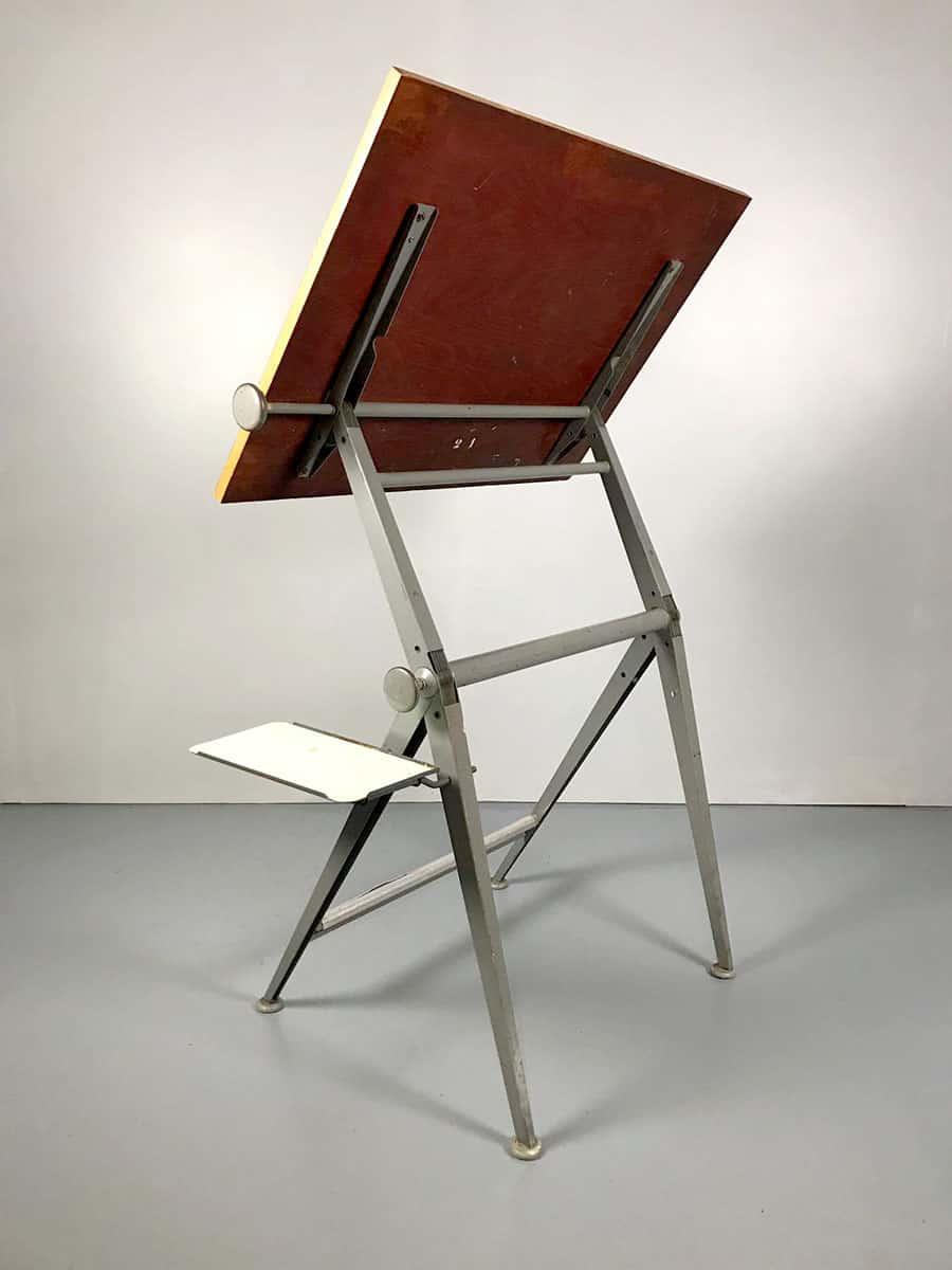 Vintage Drawing Table Friso Kramer Rietveld Tekentafel Ahrend De Cirkel