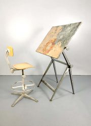 Wim Rietveld design tekentafel drawing table ahrend de cirkel