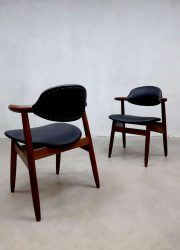 Tijsseling Dutch design cowhorn koehoorn stoelen chairs