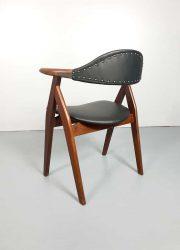 vintage koehoorn stoelen cowhorn chairs