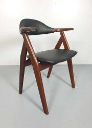 vintage design cowhorn chairs Tijsseling stoelen