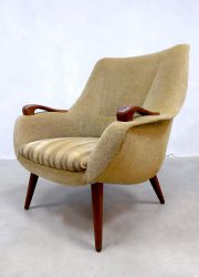 Vintage Dutch design easy chair arm chairs lounge fauteuil retro