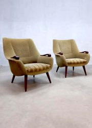 midcentury modern Danish style arm chair club chair lounge fauteuil dutch design