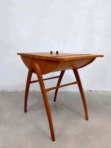 Vintage danish sewing box sitetable naaitafel bijzettafel sixties