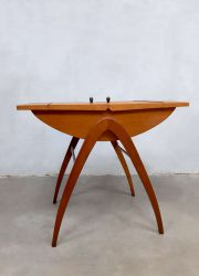 Danish design vintage sewing box sixties bijzettafel side table
