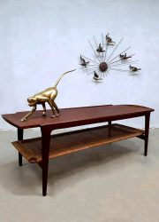 midcentury modern coffee table salontafel Webe Louis van Teeffelem