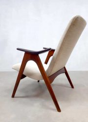 Vintage sixties armchair Dutch design Louis van Teeffelen