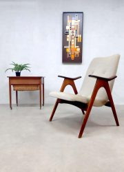 Vintage dutch design armchair lounge fauteuil Louis van Teeffelen Webe