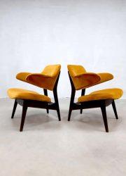 vintage pinguin chair armchair dutch design sixties design Webe Louis van Teeffelen
