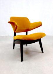 Dutch vintage midcentury design lounge chair armchair lounge stoel pinguin