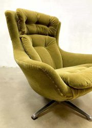 vintage retro egg chair lounge chair swivel chair