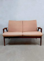 vintage lounge bank bankje retro Pastoe model Ruster sofa