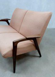 Vintage lounge bank loveseat 'Ruster' sofa Yngve Ekström voor Pastoe
