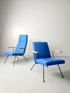 Vintage easy chair armchair stoelen Dick Cordemeijer Gispen