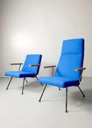 midcentury modern Cordemeijer easy chairs Gispen