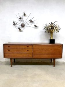 Midcentury Danish design sideboard lowboard cabinet dressoir wandmeubel