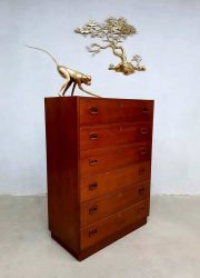 midcentury vintage design chest of drawers