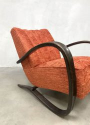 vintage design chair Jindrich Halabala armchairs lounge fauteuils