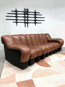 Vintage de Sede lounge bank modular sofa DS-600