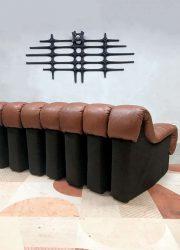 vintage design lounge bank modulair de Sede snake sofa modular ds 600