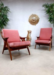 Vintage design armchair 'The Knot' de knoop fauteuil De Ster Gelderland