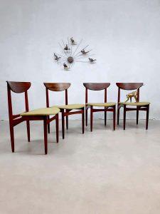 Vintage design dining chairs eetkamerstoelen Kurt Ostervig rosewood