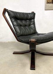 Vintage design falcon chair lounge fauteuil Sigurd Ressell Vatne Møbler 2