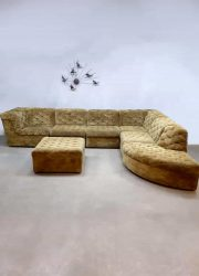 Vintage modular sofa seating elements bank Laauser XL