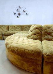vintage German design modular sofa Laauser XXL