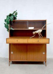 midcentury modern cabinet Danish design boekenkast bureau desk