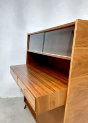 midcentury modern design cabinet kast desk bureau Scandinavian style