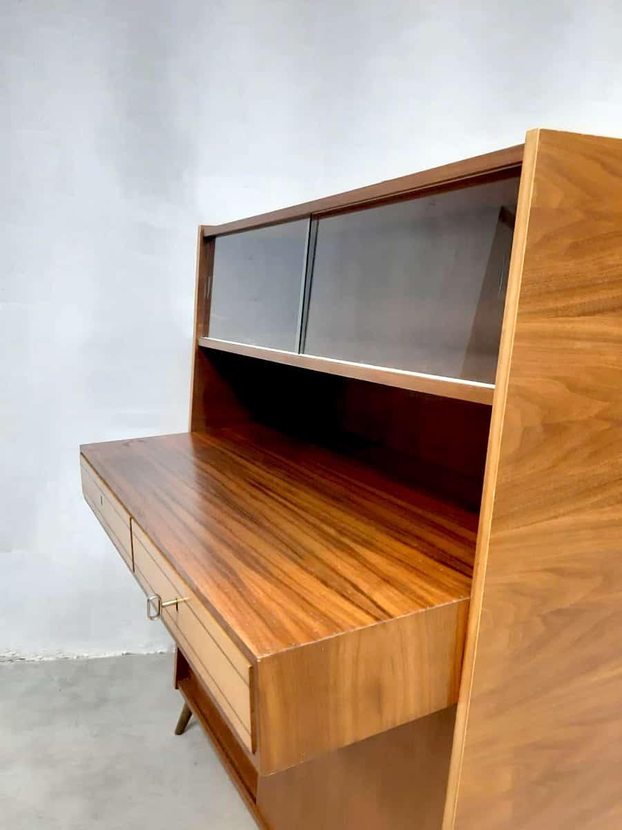 Midcentury Modern Design Cabinet Kast Desk Bureau