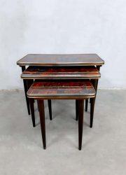 vintage sixties nesting tables mimiset bijzettafeltjes
