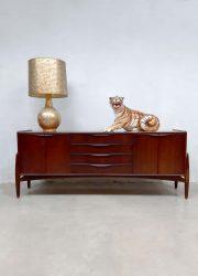 Vintage English design cabinet sideboard lowboard dressoir