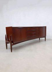 midcentury design cabinet dressoir Danish Scandinavian Deens vintage lowbaord