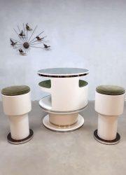 midcentury vintage design cocktail bar stools spage age Nebu