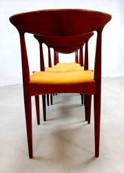 Deens design vintage Danish design Olsen Hovmand A. dinner chair eetkamerstoel