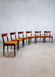 A. Hovmand Olsen Danish design sinner chairs eetkamerstoelen Deens