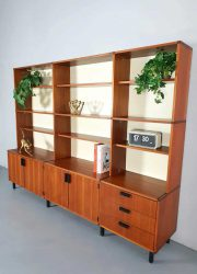 vintage made to measure kast cabinet wall unit Pastoe