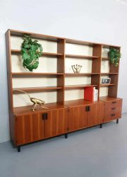 Midcentury modern vintage wandkast cabinet modular wall unit Pastoe Cees Braakman