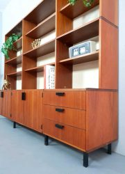 Vintage dutch design Cees Braakman cabinet wall unit kast retro loft
