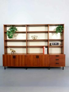 Vintage Dutch design wall unit wandmeubel made to measure Cees Braakman Pastoe
