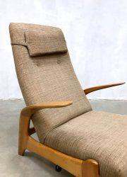 midcentury modern armchair Gimson Slater fauteuil recliner arm chair