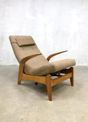 Vintage design 'Rock 'n Rest' lounge chair recliner lounge fauteuil Gimson & Slater 3