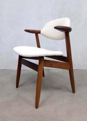 vintage design koehoorn eetkamer stoel stoelen cowhorn chair midcentury modern