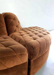 midcentury modular sofa modulaire elementen bank seating group